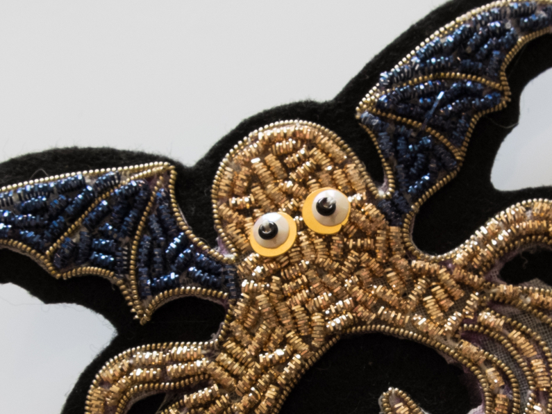 Gold Embroidery: Cthulhu embroidered order